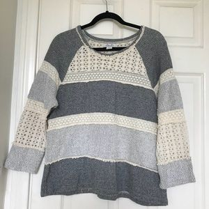 Lucky lotus sweater size large